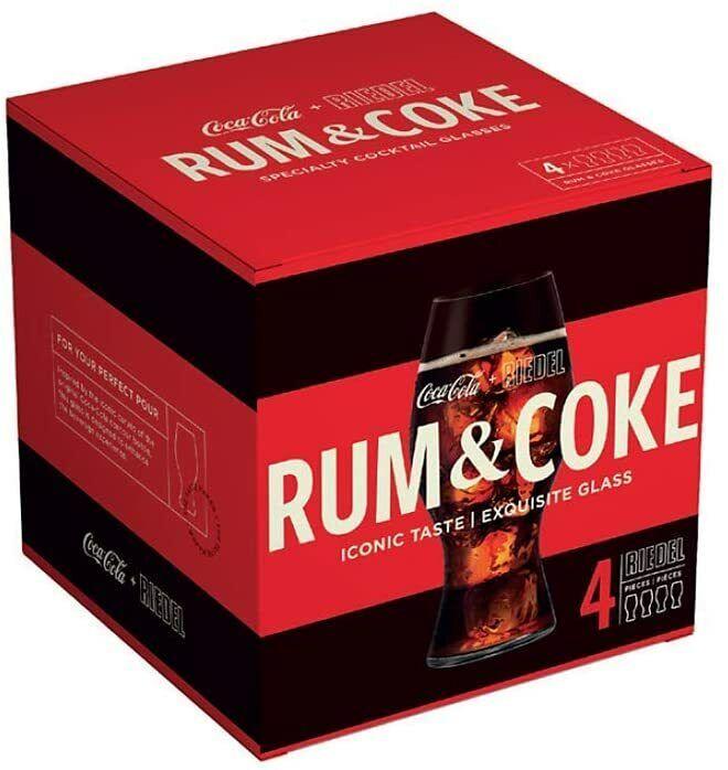 RIEDEL Rum & Coke Glasses Set of 4