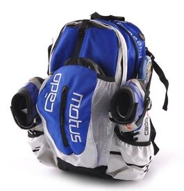 Skate Bag / Backpack, Cadomotus Airflow, Blue & White