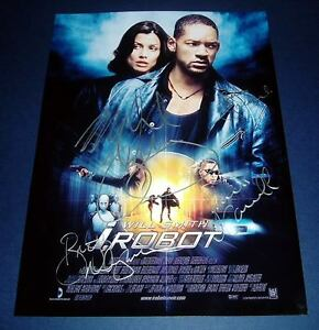 I-ROBOT-CAST-x4-PP-SIGNED-POSTER-12X8-WILL-SMITH