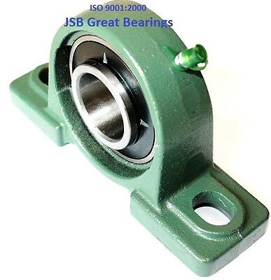 Qty 1 1-12 Ucp208-24 Pillow Block Bearing With Cast Iron Housing Ucp 208