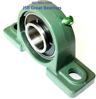 Qty. 1 1 Ucp205-16 Pillow Block Bearing With Cast Iron Housing Ucp 205-16