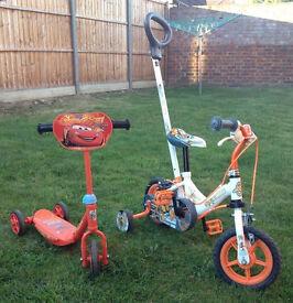 Child bike & scooter