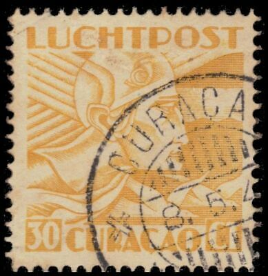 """NETHERLANDS ANTILLES C8 - Allegory of Flight """"Airmail"""" (pa62965)"""