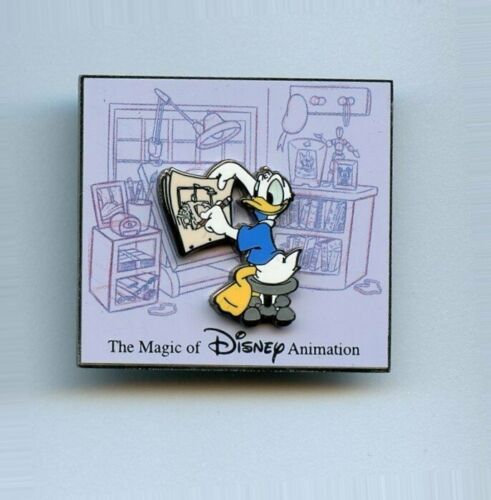 Auctions The Magic of Disney Animation Donald Duck Sketch Desk LE 100 Pin