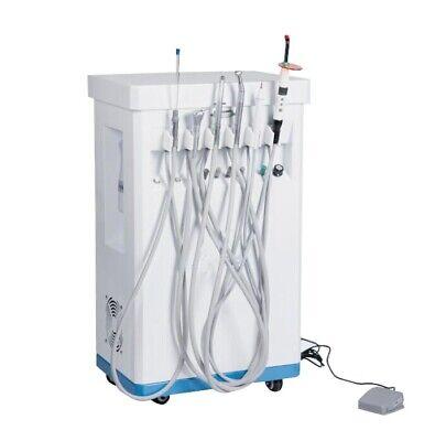 Portable Dental Delivery Treatment Cart Unitcompressorcuringsclaerhandpiece