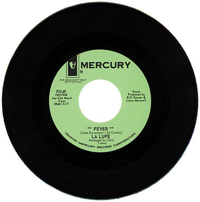 "LA LUPE  ""FEVER c/w OOH""   60's LATIN SOUL"