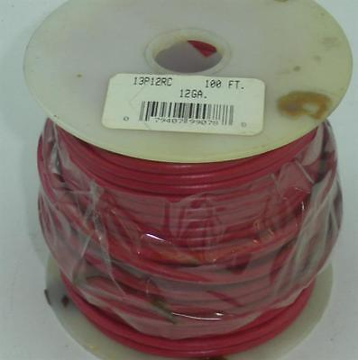 AMT Plastic Copper Primary Wire Red 12 Gauge 100 Ft 19409