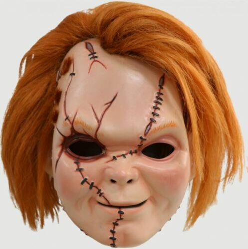 Adult Trick or Treat Studios Curse of Chucky Scarred Mens Halloween Costume Mask