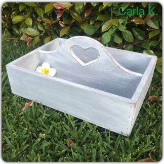 Storage Tray with heart shaped handle Frenchs Forest Warringah Area Preview