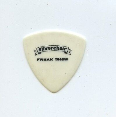 SILVERCHAIR - Freak Show Tour - Stage Concert Guitar Pick - White Bass