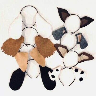 Variety Puppy Dog Ears headbands birthday party favors theme supplies  - Dog Themed Party