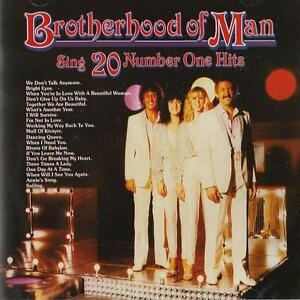 Brotherhood of Man - Sing Twenty Number One Hits ( CD 2011 ) NEW / SEALED