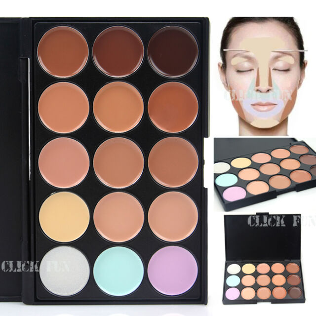 15 Color Contour Face Cream Makeup Concealer Neutral Camouflage Palette AU POST