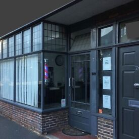 Barbershop lease available