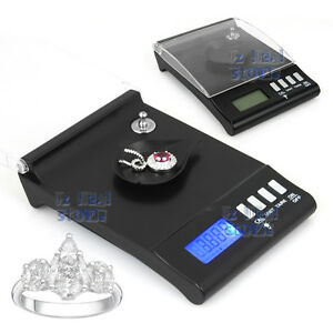 0.001g 30g High Precision Electronic Digital Milligram Pocket Jewellery Scale AU