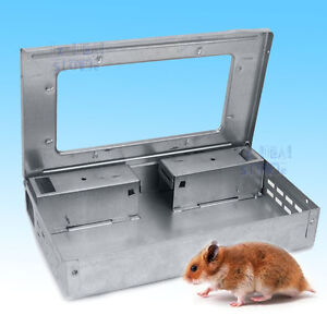 Multiple Catch Mouse Trap Humane Safe Self Catching Rodent Vermin Live Mice Rat