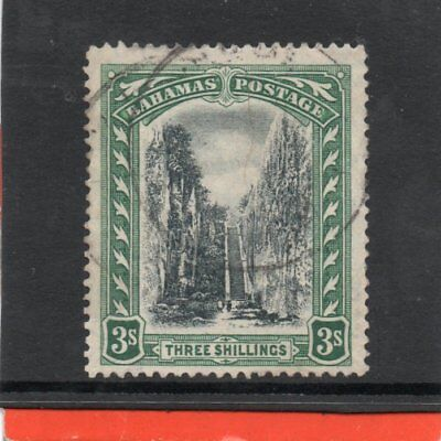Bahamas GV 1911-19 3s black & green sg 80 Used