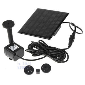 Solar-Power-Fountain-Submersible-Water-Pump-Garden-Pond-Pool-Feature-Kit-Plants