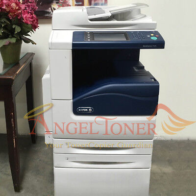 Xerox Workcentre 7125 Color Mfp Laser Printer Scanner Copier Machine 25 Ppm A3