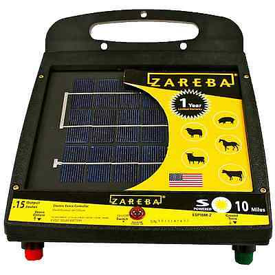 Zareba Esp 10mz Solar Charger 10 Mile Solar Fence Charger