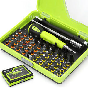 OZ Cross 53in1 Precision Star Tor Flat Hex Philips Screwdriver Tools Set Tweezer