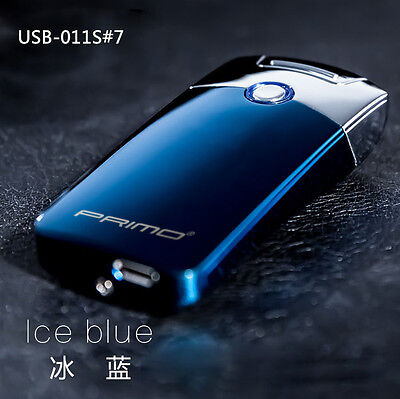Rechargeable USB Electric Arc Windproof Flameless Lighter Best Gift USB-011S#7