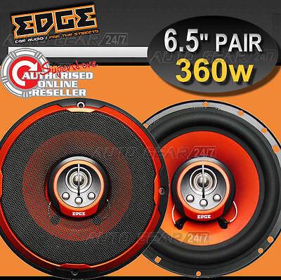 New Edge ED206 6 6.5 inch 4-Way 360Watt 165mm Car Van Door Cone Coaxial Speakers