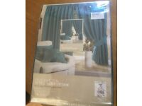 Great Pair of Curtains Teal New
