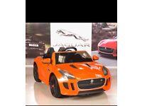 Jaquar F-Type, Orange, Parental Remote & Self Drive