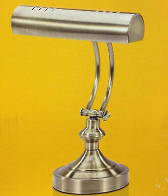 V Light Traditional Desk Lamp Antique Brass Finish 15 inches Tall Model VS100102 ()
