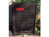Rare 1970's WEM Dominator Mk II amplifier