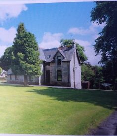 2 bed flat in countryside