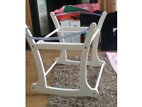 Mothercare Moses basket rocking stand