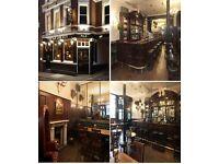 Part Time Bar Tender – The Hat & Tun – Farringdon