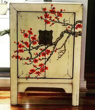 Hand Painted Vintage Chinese Cupboard Lane Cove North Lane Cove Area Preview