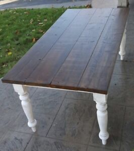 Rustic Harvest Table For Sale