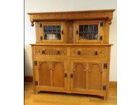 Old Charm Oak 'Welsh' Dresser, Display Cabinet/Sideboard