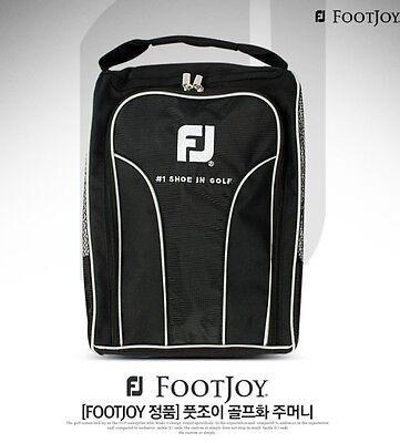 Golf Shoes Case Bag Sack Authentic FOOTJOY Pocket Black 23cm x 11cm x 23cm