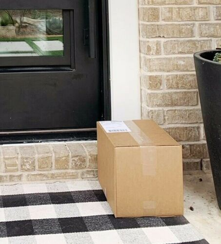 Porch Pirate Decoy Package with built in Alarm / Includes Remote