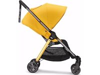 16month warranty- Armadillo city **ochre** sold out with all seasons matching footmuff and liner