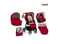 Hauck Lacrosse All In One Travel System - Chilli Offers welcome