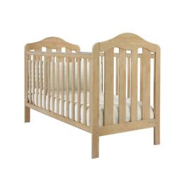 New Mamas & Papas Lucia Real Wood Cot/Toddler Bed (East Croydon)