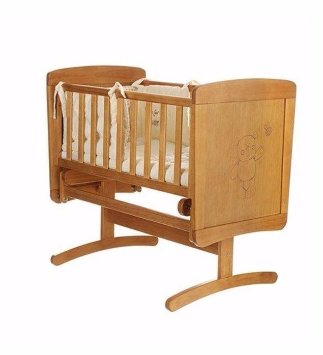 Obaby B is for Bear Gliding Crib & Mattress