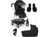 Mamas & Papas Sola 2 with car seat