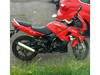 125cc motorbike for sale or swap.