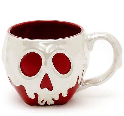 Disney Store SNOW WHITE Poison Apple Ceramic Mug 16 Oz