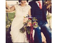 Vintage inspired Essence of Australia Wedding Dress - D1549