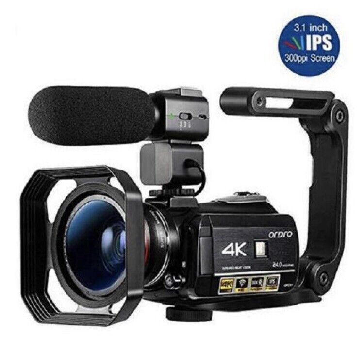 NEW VIDEO CAMERA 4k CAMCORDER FULLY LOADED
