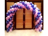 Ballon Arch hire £60 West Yorkshire