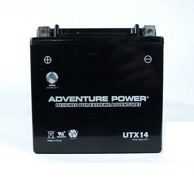 Ytx14 Bs Battery Honda Atv Fourtrax  Rancher Foreman Rubicon Rincon 4X4 New